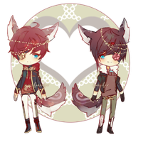 (CLOSED) Valentines Day Adopts ( AB ADDED) by Ahniki