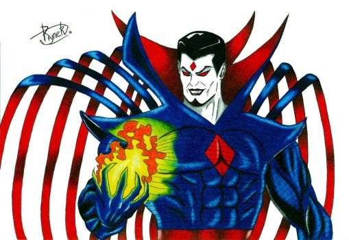 Mr. Sinister (color) by Rayner80