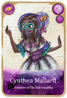 (Card) Cynthea Mallard by Jade-Encrusted-Bugs