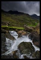 Llanberis Pass by tobyedwards