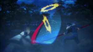 Fate/stay night UBW - Saber vs Lancer (animated) by WhiteShadow-24