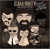 CALL OF DUTY POSTER OLD by keyholestyle