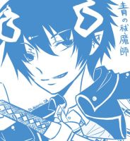Ao No Exorcist: Rin Okumura by d-aiki