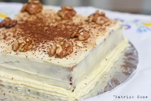 Carrot cake with walnut 2 by patchow