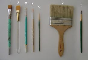 Acrylic Brush Arsenal by No-Sign-of-Sanity