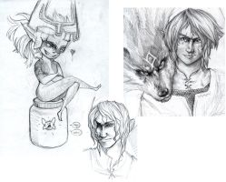More Twilight Princess WIPs by trisis