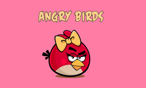 Angry Birds wallpaper by Aino6