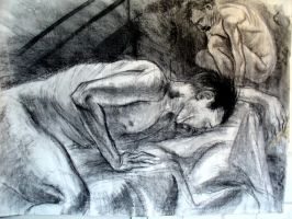 large life drawing by ZombPunk