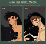 Draw it again meme by HallowShell15