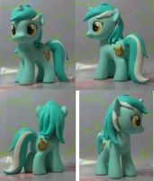 My Little Pony Custom FIlly Lyra by SanadaOokmai