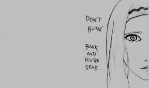 Don't blink. by AnninaCullen