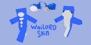 wailord skin by SpaceWaffleDelivery