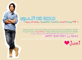 Happy birthday Yamapi by jumigrace