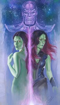 Gamora by TanyaGreece