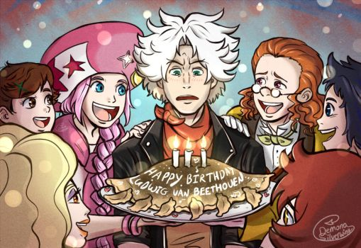 Happy Birthday Beethoven by Demona-Silverwing