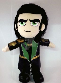 Squishable Action Figures: Loki by BarbaricCreations