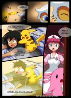 Pokemon Black vs White Chapter 3 Page 17 by YogurtYard