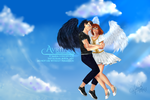 Commission - Angel of Mine by Avriia