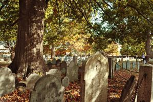 Old Burying Point Cemetery Salem by GrimFay