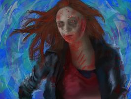 Zombie Amy Pond by FunkBlast
