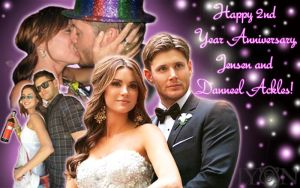 Jensen and Danneel Ackles X3 by TheDocRoach