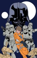 Star Wars Idylls of the Force Promo Art Flats-WIP by Ihlecreations