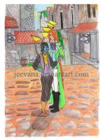 Lovers In Bliss by Jeevana