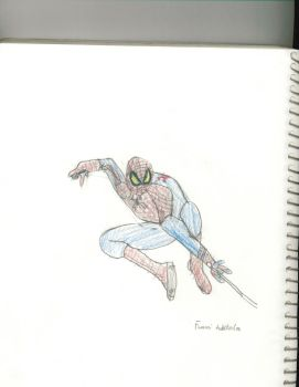 The Amazing Spider-Man sketch#1 by funmiproductions