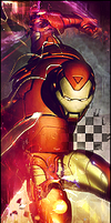 Iron Man by B-LX