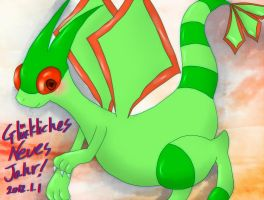 Glueckliches Neues Flygon by divided-s