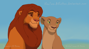 SP Simba and Nala by NewSea-ANother