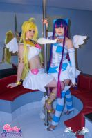 Fly Away Now! Panty Stocking Garterbelt cosplay by Angel--Arwen