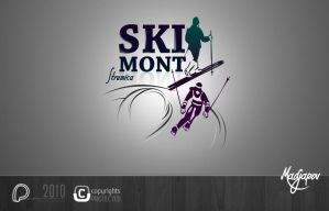Ski Club Logo by puler