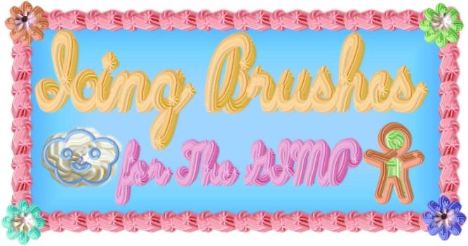 Icing Brushes by caffeine2