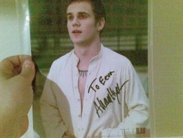 Allan Hyde's autograph by evex81