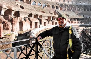 Inside the Colosseum by zeronemike
