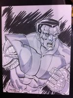Colossus the Awesome by thejeremydale