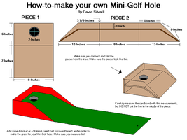 How-to Make a Mini Golf Hole Game by Gamekirby