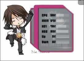 Rainmeter: Squall Leonhart by milkkybunny
