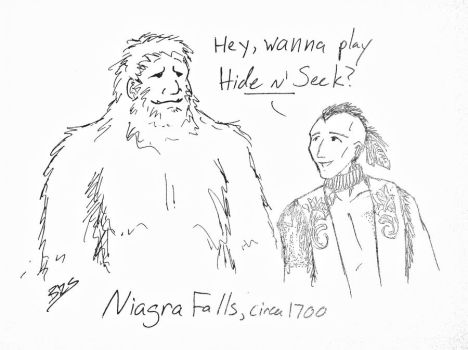 Brian's Bigfoot Theory by crazed-fangirl
