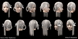 Kaine Hair Reference by PhilipMessina