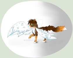 .:Time To Fly:. (Commish) by Baconkitty