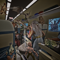 Midnight Train to Elfland by Limnery