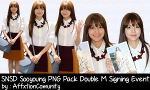 SNSD Sooyoung PNG Pack Double M Signing Event by AffxtionComunity