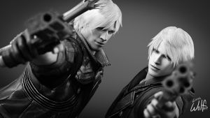 Dante and Nero: Brotherhood by LoneWolf117