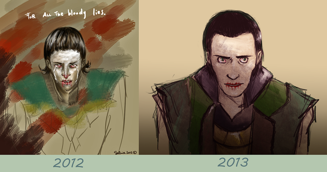 Draw it again! Loki Lies. by ilcielocapovolto