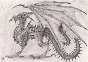 Spikey dragon by Eppon