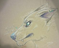 Sketchy Wolfy by Empyreaus