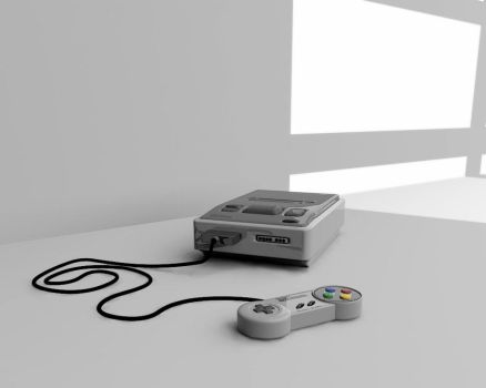 New SNES by Deejayqt
