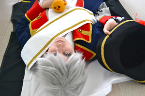 APH Cosplay: Prussia 4 by SabakuNoChie